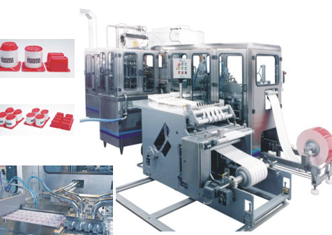 "Form fill seal machines for cups ""decor"""