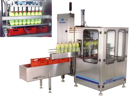 Automatic case packer for bottlers  EABD