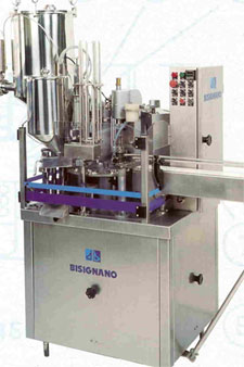 Rotating filling and packaging machines for trays R - RC – RG