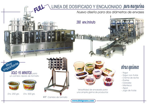 Linear filling and packaging machines for trays DLB