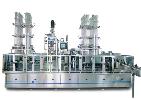 Linear filling and packaging machine for trays SIGMA MOTOR CORD